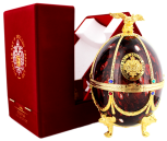 Imperial Collection Vodka Faberge Ei Bordeaux rood
