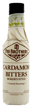Fee Brothers Cardamom Bitters bokers style