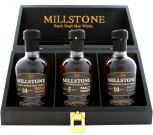 Zuidam Millstone Malt Whisky Trio Dutch whisky