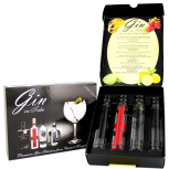 Gin in Tube Giftset (Botanicals, Sting, Brecon, Boe)