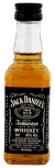 Jack Daniels Black  no7 Tennessee whiskey miniatuur